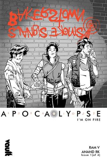 Radio Apocalypse, New Ram V, Anand RK, Aditya Nidikar Comic From Vault