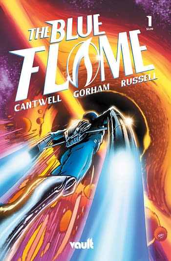 The Blue Flame #1 in Vault Comics May 2021 Solicitations