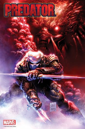 Ed Brisson and Kev Walker Launch Predator #1 From Marvel In June
