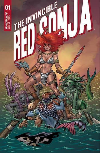 Invincible Red Sonja #1 Doubles Orders On FOC