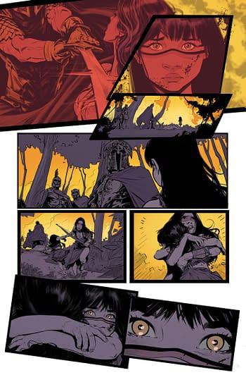 Interior art from Wonder Girl #1