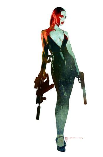 Cover image for GUN HONEY #1 (OF 4) CVR F 10 COPY INCV SIENKIEWICZ VIRGIN (M