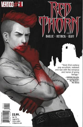 SCOOP: Red Thorn, a DC/Vertigo Comic, is Being Adapted For Television