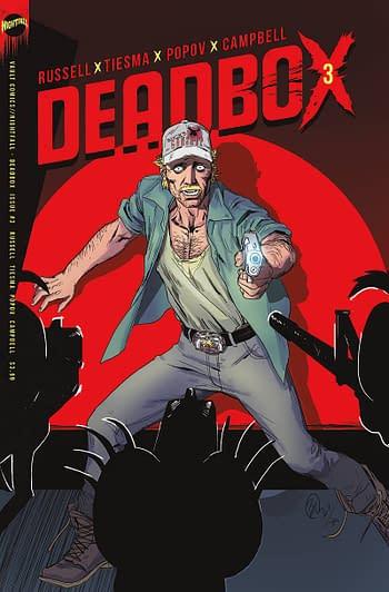 Cover image for DEADBOX #3 CVR A TIESMA