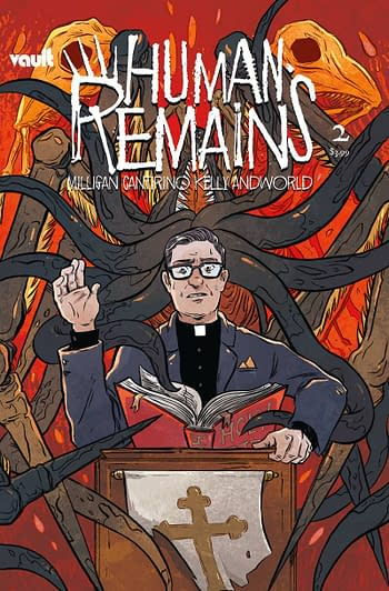 Cover image for HUMAN REMAINS #2 CVR A CANTIRINO
