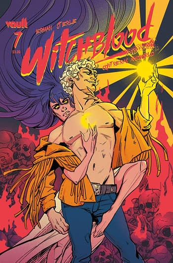 Cover image for WITCHBLOOD #7 CVR A STERLE