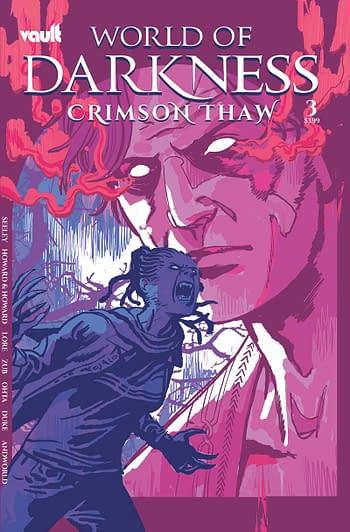 Cover image for WORLD OF DARKNESS CRIMSON THAW #3 CVR B HIXSON