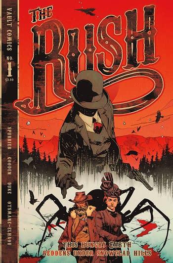 Cover image for RUSH #1 CVR A GOODEN