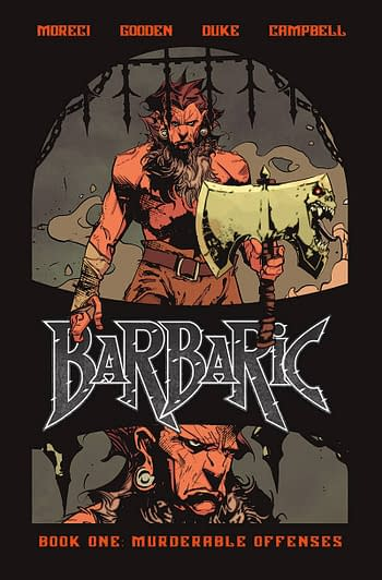 Cover image for BARBARIC HC VOL 01