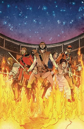 Cover image for SEVEN SWORDS #5