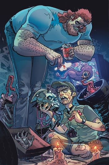 DC Comics to Launch Soul Plumber Horror Comic in October