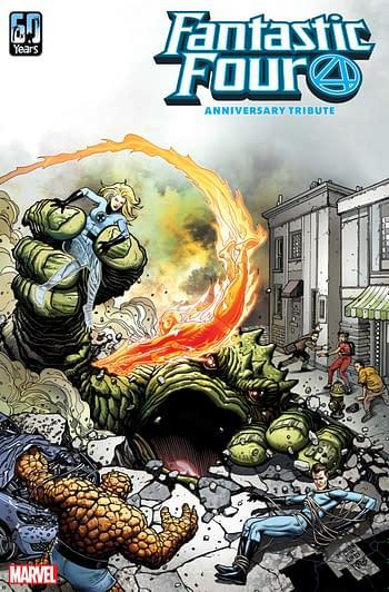Fantastic Four Anniversary Tribute