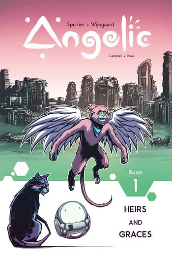 Cover image for ANGELIC TP VOL 01 HEIRS & GRACES (MAR180601)