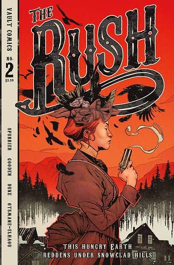 Cover image for RUSH #2 CVR A GOODEN