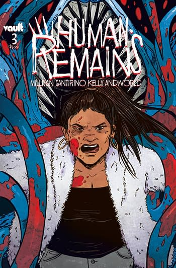 Cover image for HUMAN REMAINS #3 CVR A CANTIRINO