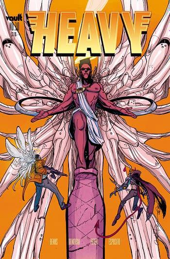 Cover image for HEAVY #10 CVR A DONOVAN
