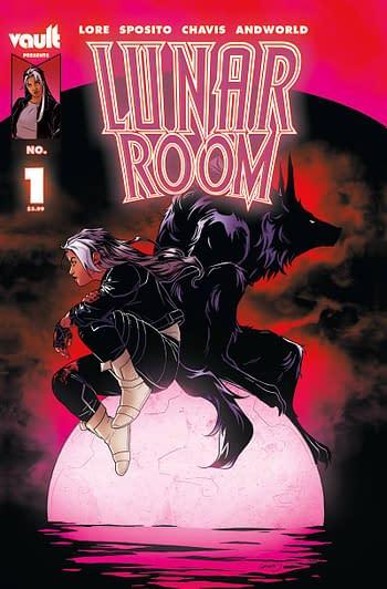 Cover image for LUNAR ROOM #1 CVR A SPOSITO