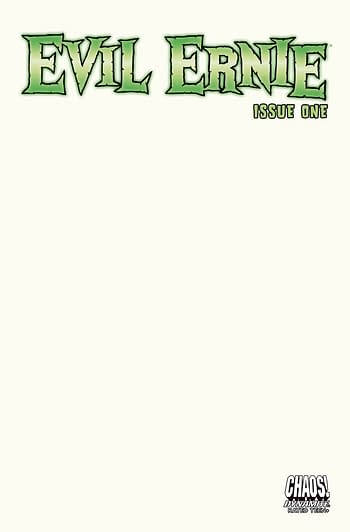 Cover image for EVIL ERNIE #1 CVR C BLANK AUTHENTIX