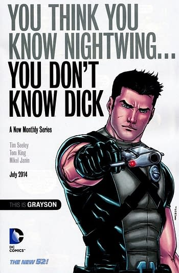 Nightwing To Lose His Dick