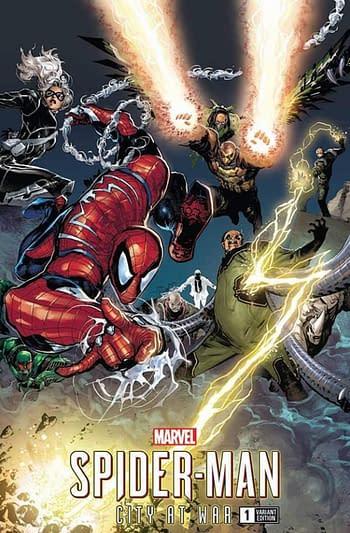 Marvel Launches Just Five Retailer Exclusive Variants in June