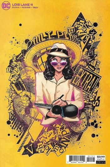 DC Lois Lane #11 Variant Cover