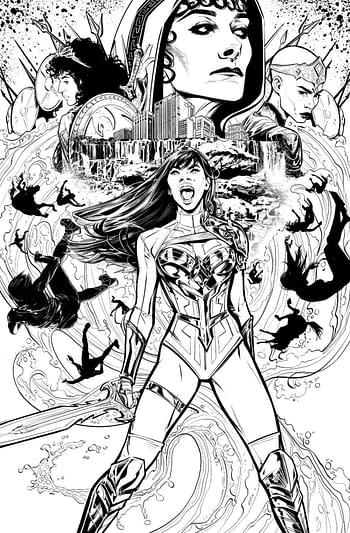 DC Comics Launches Joëlle Jones' Wonder Girl #1 in May With Yara Flor
