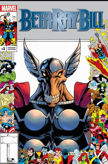 35th Anniversary Of 25th Anniversary Of Marvel Comics Variant Covers