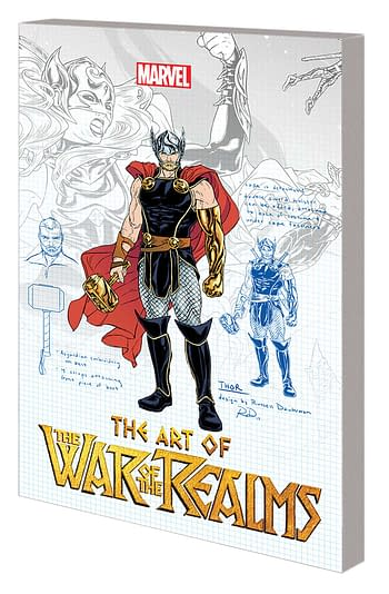 Full Marvel April 2019 Solicitations – The Art Of War of The Realms