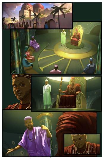 Art from Iyanu by Roye Okupe and Godwin Akpan