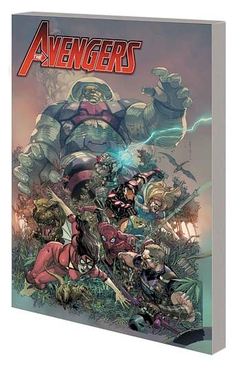 Marvel Comics October 2018 Solicitations