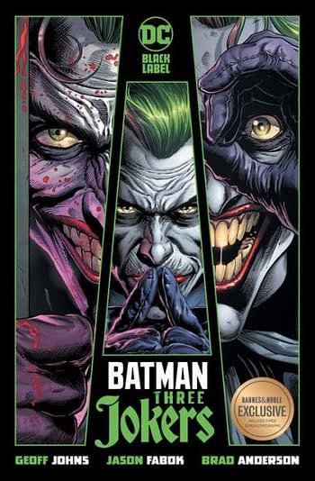 Batman Three Jokers Barnes & Noble Exclusive HC Cover