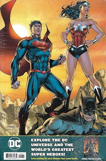 Justice League #51 Variant Cover Pack Back