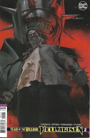 Hell Arisen #2 Variant Cover