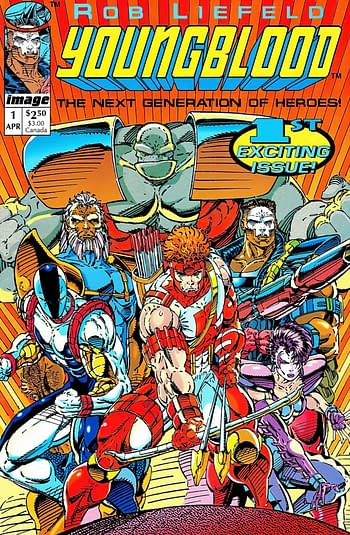 Rob Liefeld Launches Youngblood Replacement, #EKO92.