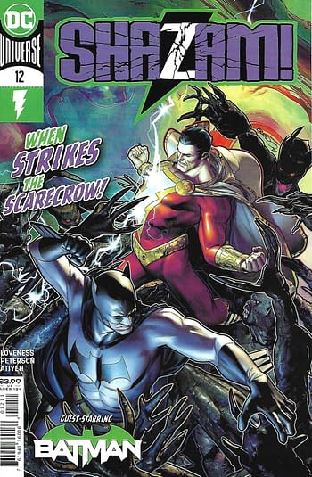 Shazam! #12 Main Cover