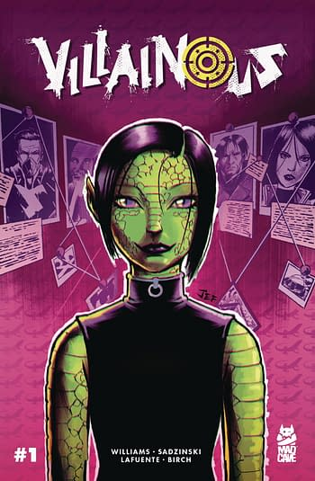 Villianous, Hollywood Trash in Mad Cave October 2020 Solicitations