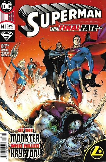Superman #14 Cover