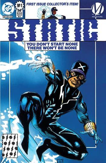 DC Comics Erases Michael Davis From Black History Month?