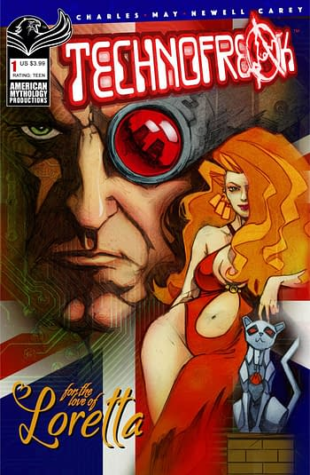 Cover image for TECHNOFREAK #1 (OF 3) CVR A NEWELL (O/A) (MR)