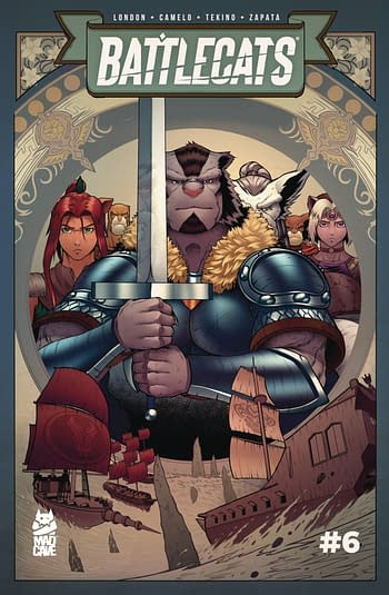 Cover image for BATTLECATS VOL 3 #6