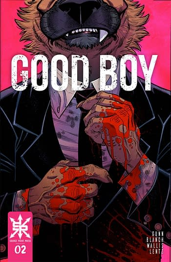 Cover image for GOOD BOY #2 (OF 3) CVR A BRADSHAW (MR)
