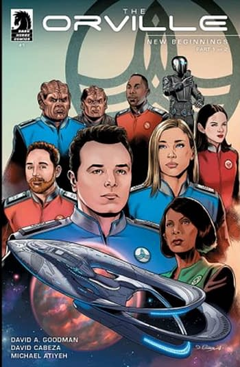 The Orville's Writer/Producer David A. Goodman to Write an Orville Comic Book