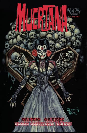 Glenn Danzig Launches Muertana in Verotik October 2020 Solicits.