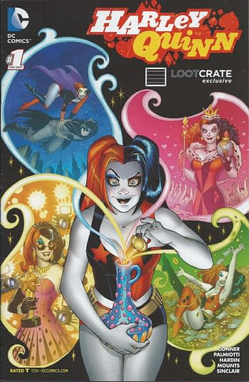 Harley Quinn Loot Crate Exclusive #1 Cover