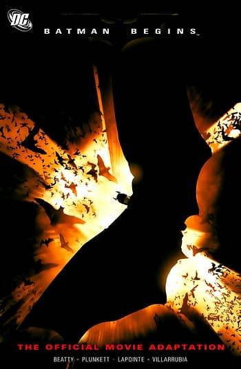 Batman Begins The Official Movie Adaptation Cover #1 The Dark Knight
