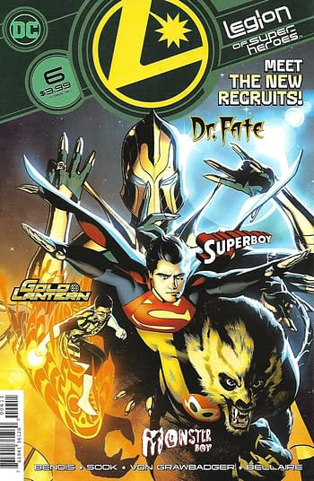 DC Leigon of Super-Heroes #6 1st Print Main Cover