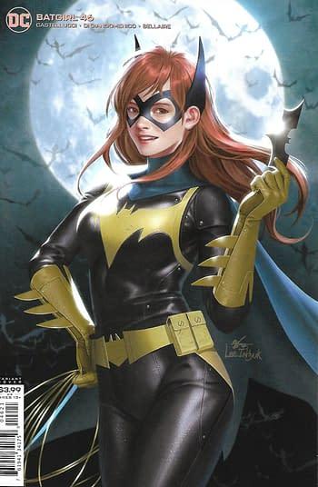 DC Batgirl #46 Variant Cover