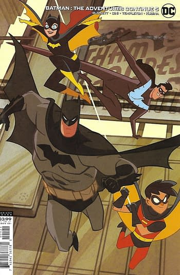Batman The Adventure Continues #5 Variant Cover