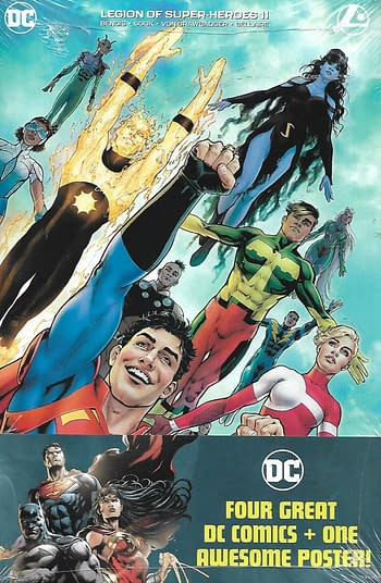 Legion Of Super Heroes #11 Set Front