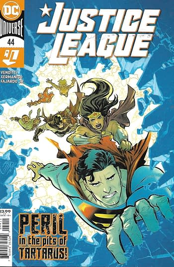 Justice League #44 Main Cover